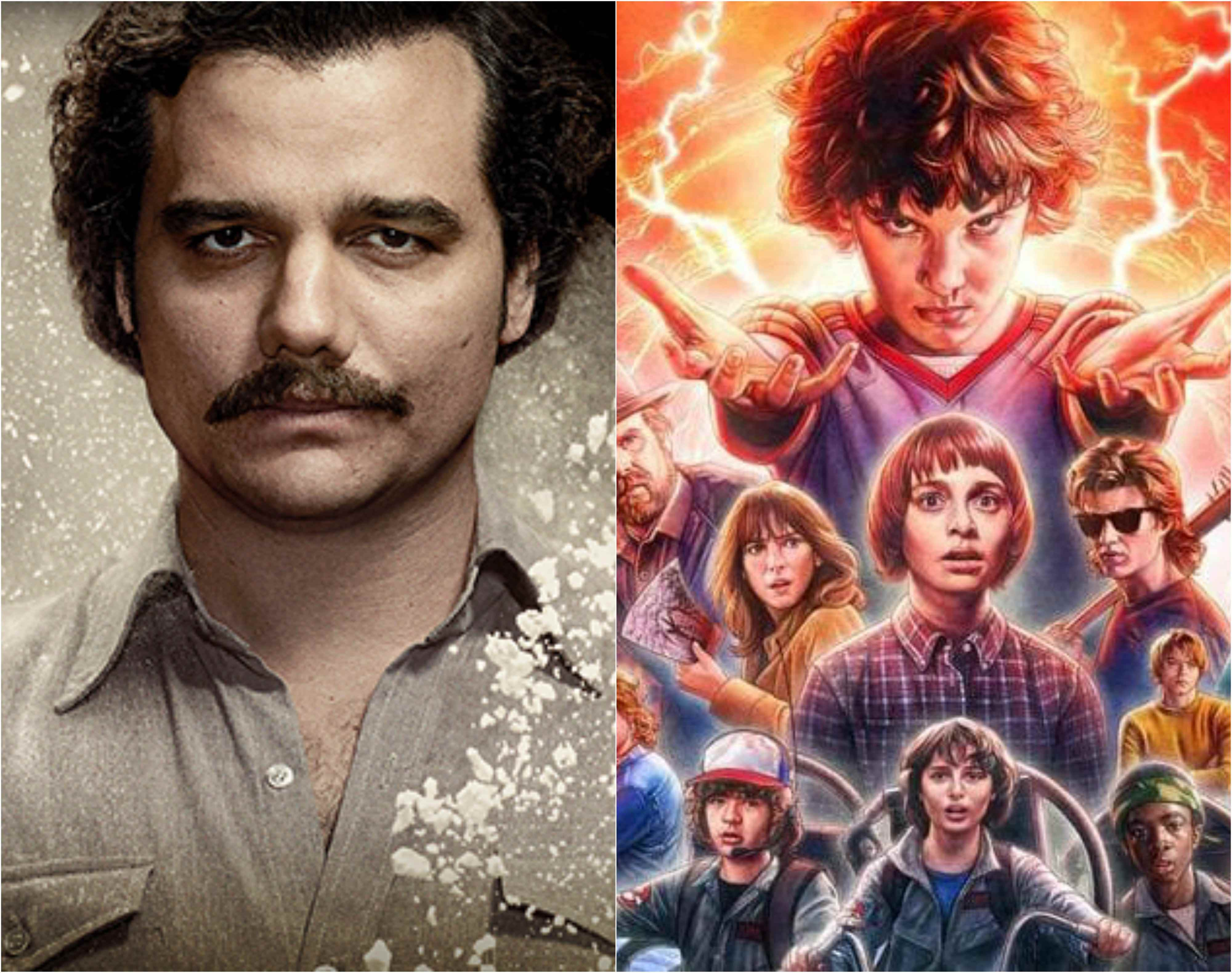 Stranger Things Narcos Top Shows Of Netflix In 2017