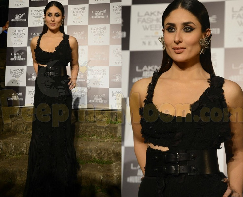 27aad73f3aa Lakme Fashion Week 2018  Kareena Kapoor Khan Sizzles In Black