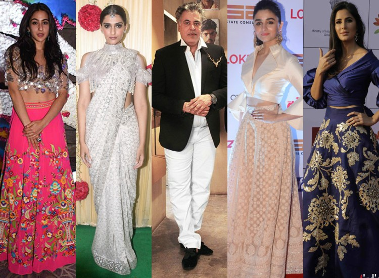 Birthday Special 7 Jaw Dropping Celebrity Looks Designed By Abu Jani Sandeep Khosla