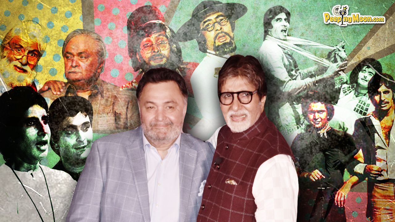 From reel brothers to real friends, Amitabh and Rishi have