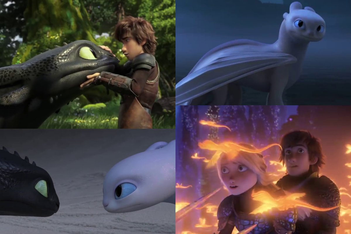 How To Train Your Dragon 3 Trailer: Let Toothless teach ...