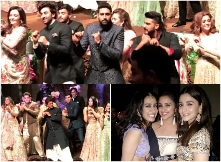 A Bollywood flash mob, pouts and poses: Akash Ambani's - Shloka